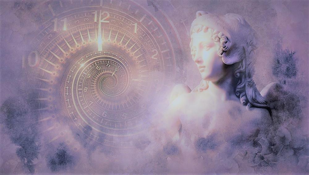 """Soin énergétique à thème """"Accueillir l'Abondance"""": Le soin de J. : Archange Zadkiel et énergie violette..."""
