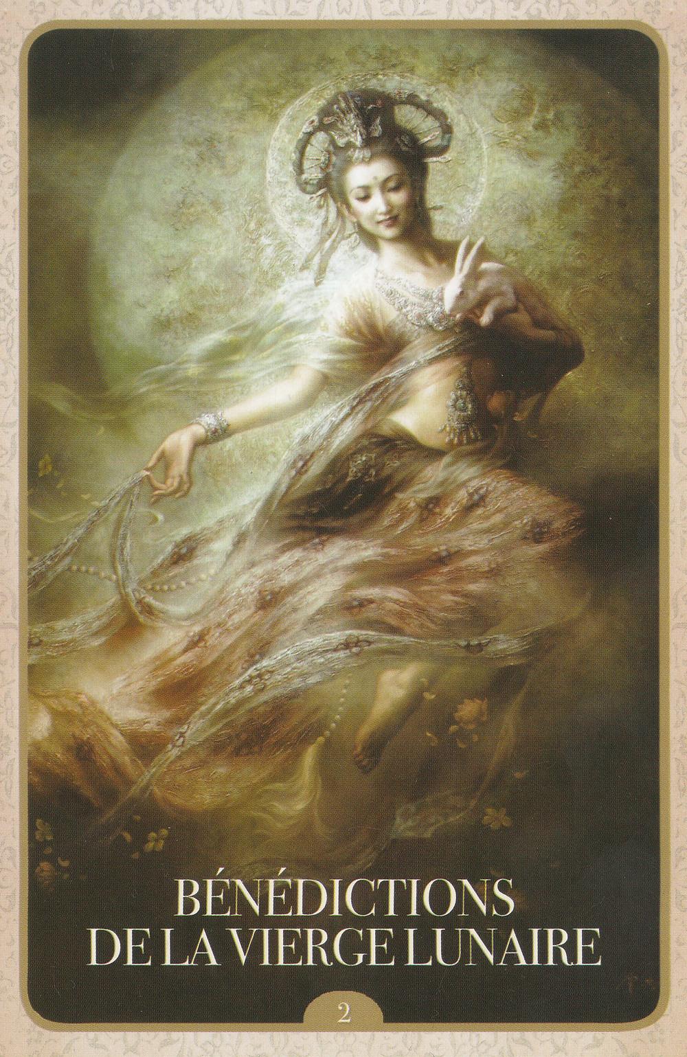 Carte de L'Oracle de Kuan Yin d'Alana Fairchild - Energies de Mai 2021 (Portail du 5-5) : Transformation et Accueil de nos Bénédictions !