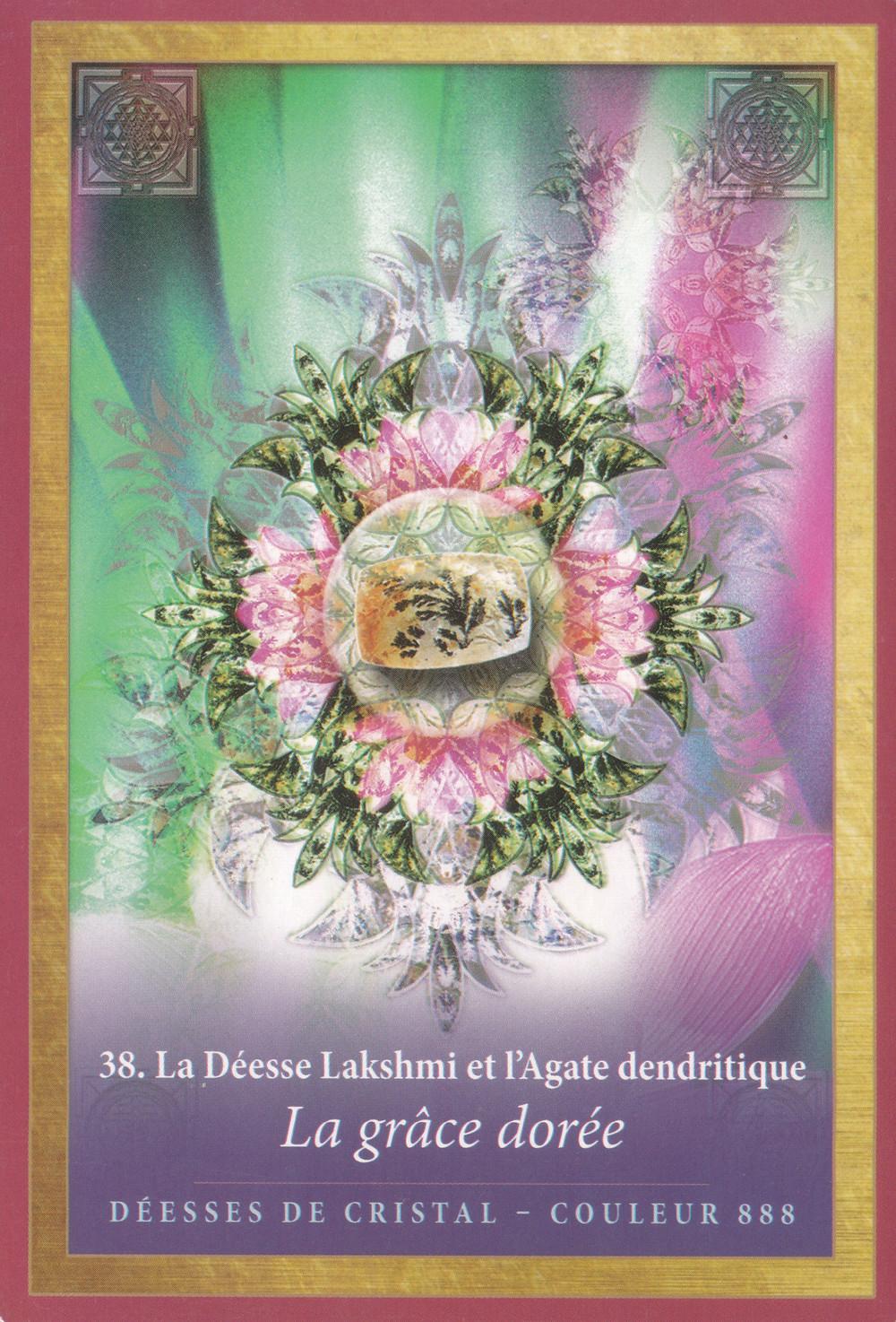 [Carte de L'Energie des Anges et des Cristaux d'Alana Fairchild] - 38 La Grâce Dorée - Energies d'Août 2020 (Portail du Lion 8-8) : Abondance et Prospérité d'Être Unifié !
