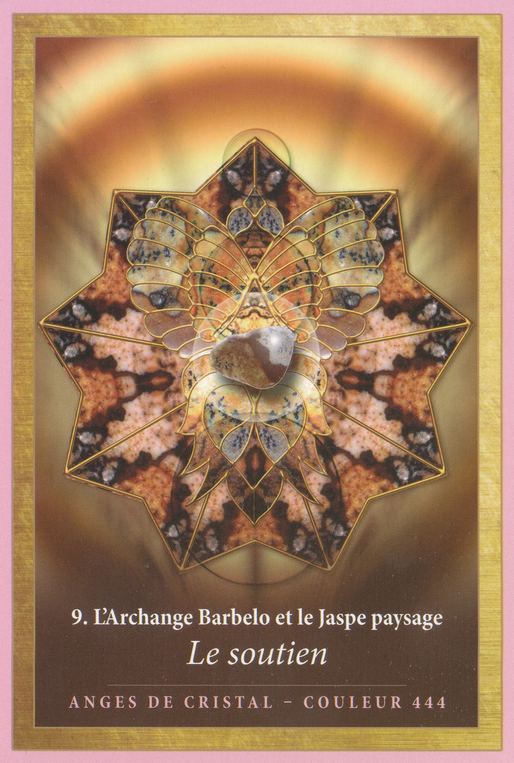 Carte de L'Energie des Anges et des Cristaux d'Alana Fairchild - 09 - Le soutien - Energies du 22-23-24 novembre 2019 : Transcender ses limites au Bonheur pour Ouvrir ses ailes...