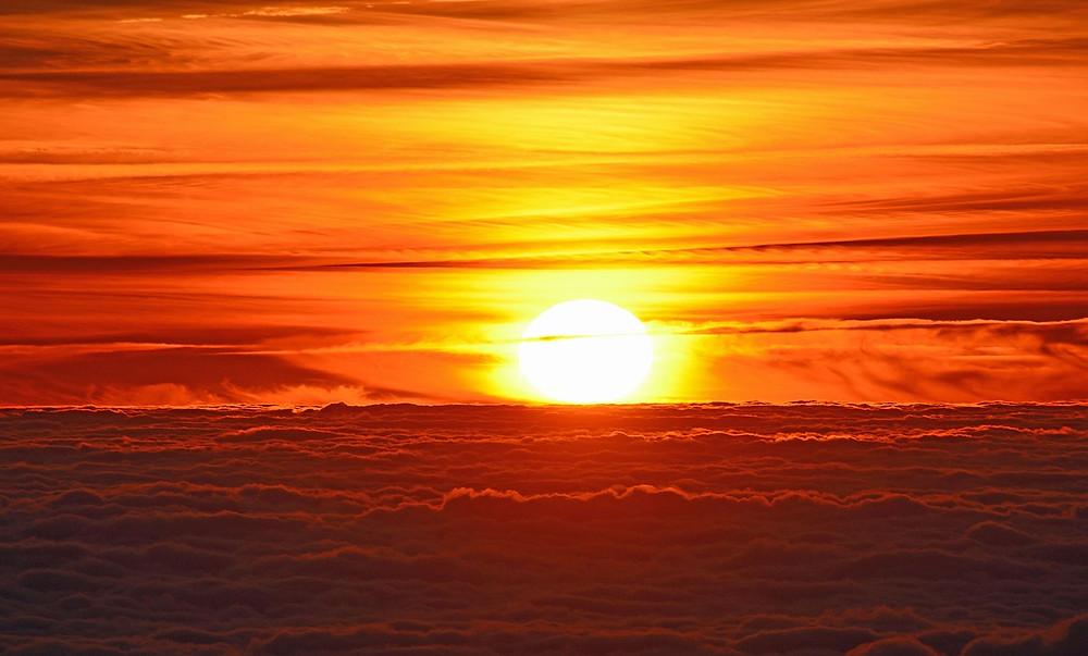 """Soin énergétique à thème """"Accueillir l'Abondance : Le soin de T. : Chaleur de Soleil Sacré..."""