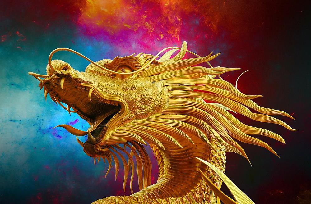 """Soin énergétique à thème """"La peur du changement et de l'inconnu"""" : Vertige de Dragon entre Ciel et Terre..."""