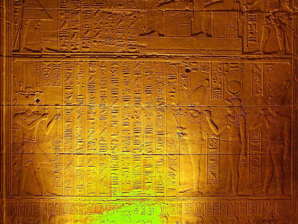 Mes soins énergétiques racontés : Soin Ciel et Terre : Avec la Déesse Bastet au coeur d'un temple égyptien...