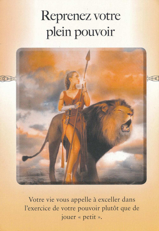 Carte de l'Oracle Le Pouvoir du lâcher prise de Judith Orloff - Energies 23-24-25 avril 2021 (pré Pleine Lune) : Garder son Pouvoir en restant Conscient et Présent