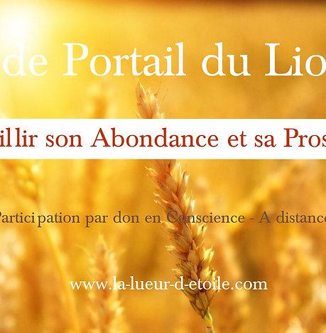 Soin du Portail du Lion 8-8 : Accueillir son Abondance et sa Prospérité
