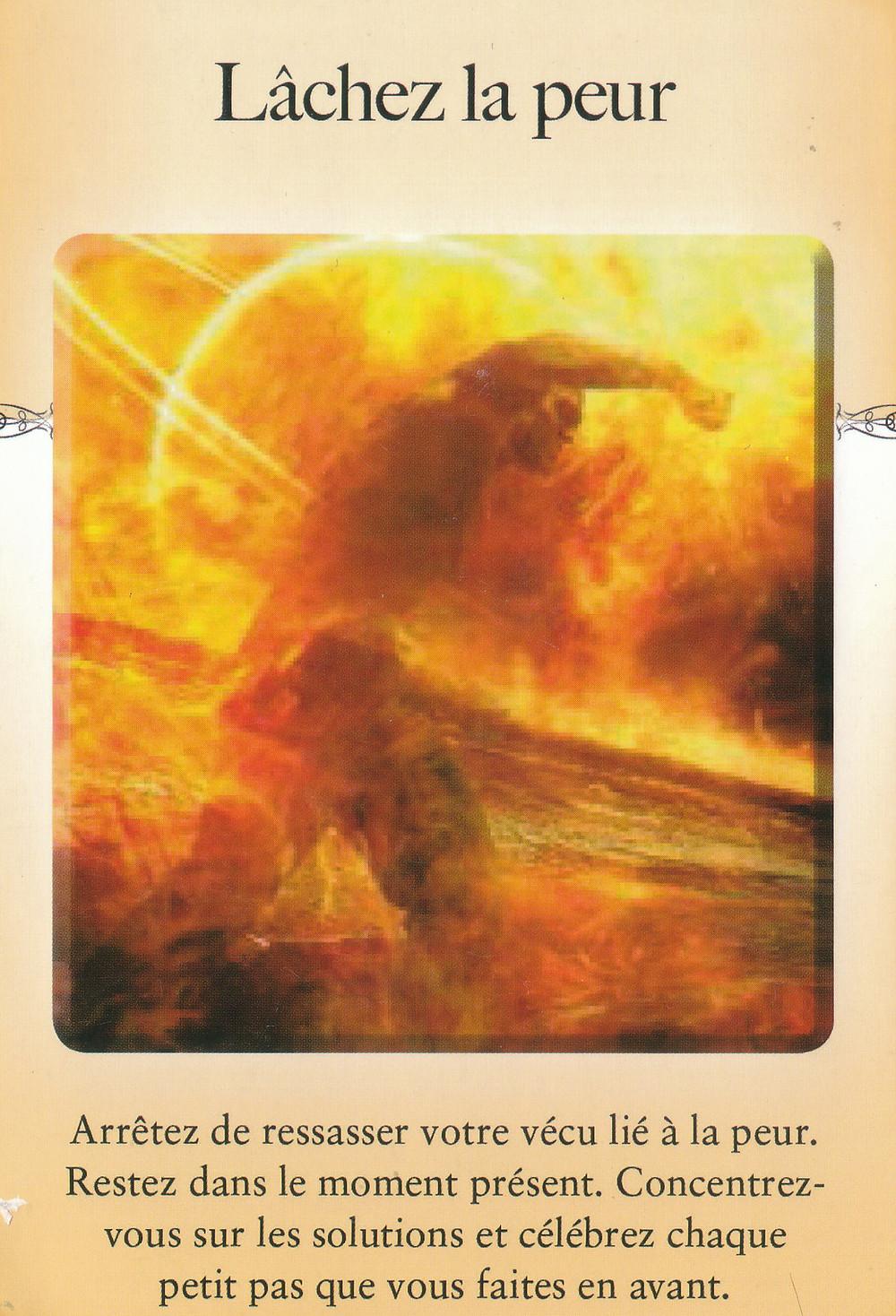Carte de l'Oracle Le Pouvoir du lâcher prise de Judith Orloff - Energies de Pas-Sage Avril-Mai,weekend du 30-1-2 mai : On se prépare pour Accueillir l'Abondance...