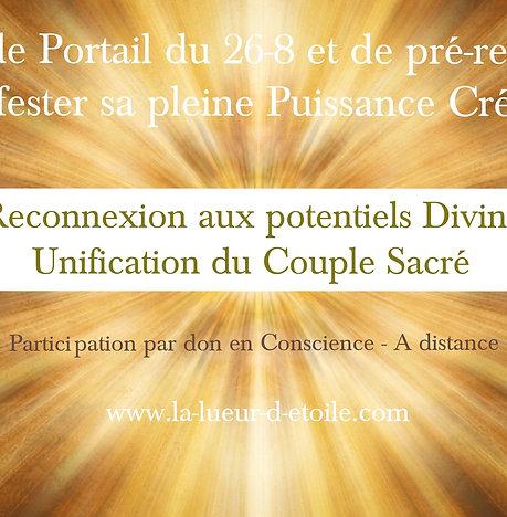 Soin de Portail du 26-8 : Manifester sa pleine Puissance Créatrice