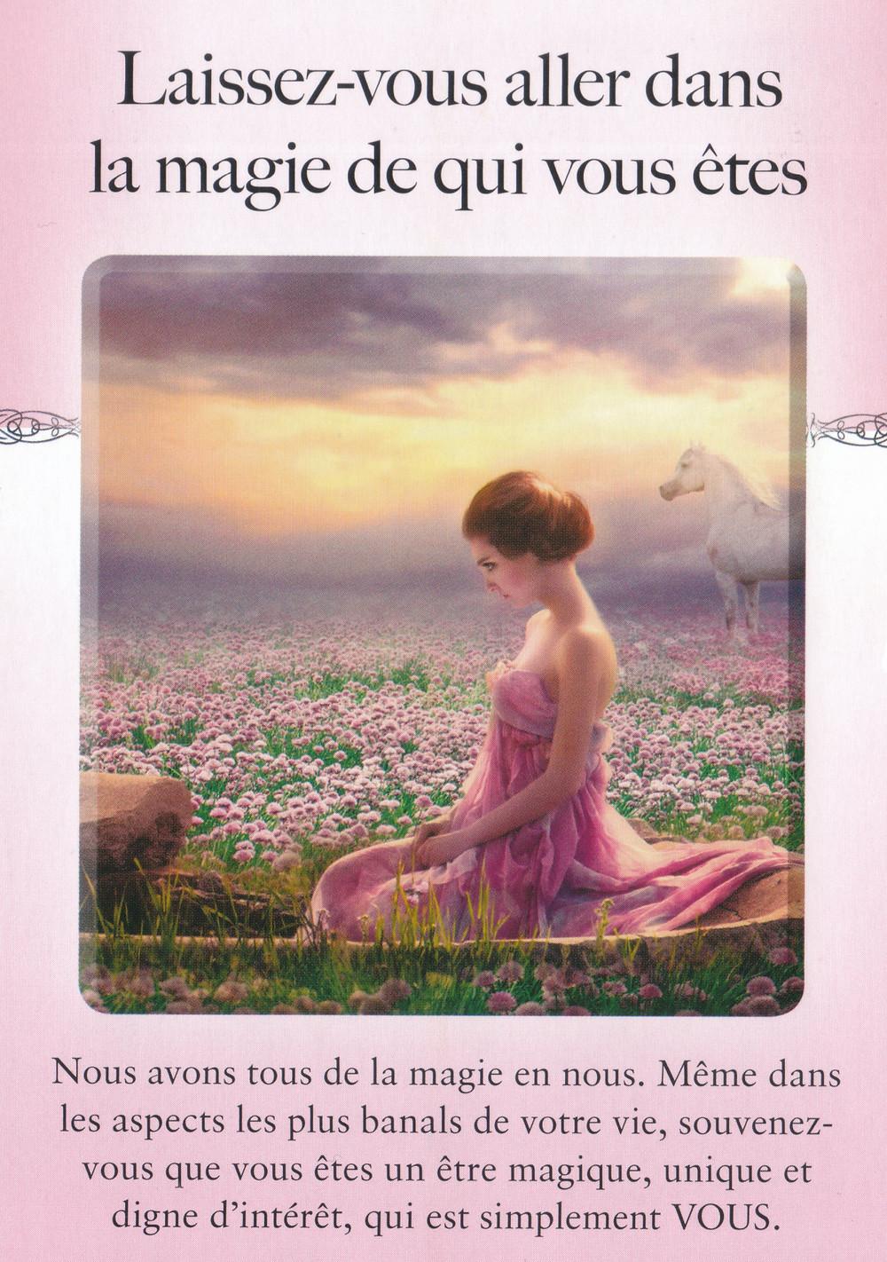 Carte de Le Pouvoir du lâcher prise de Judith Orloff - Laissez vous aller dans la magie de qui vous êtes - Energies du 1er au 7 juin 2020 : Faire le point avant de reconstruire !