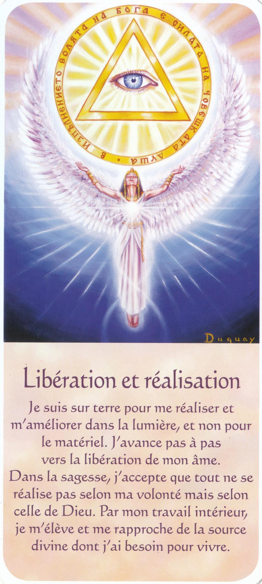 Carte de Messages d'Eveil, de Mario Duguay - Libération et réalisation - Conseils du 22 avril 2020 - Portail énergétique du 4-4-4