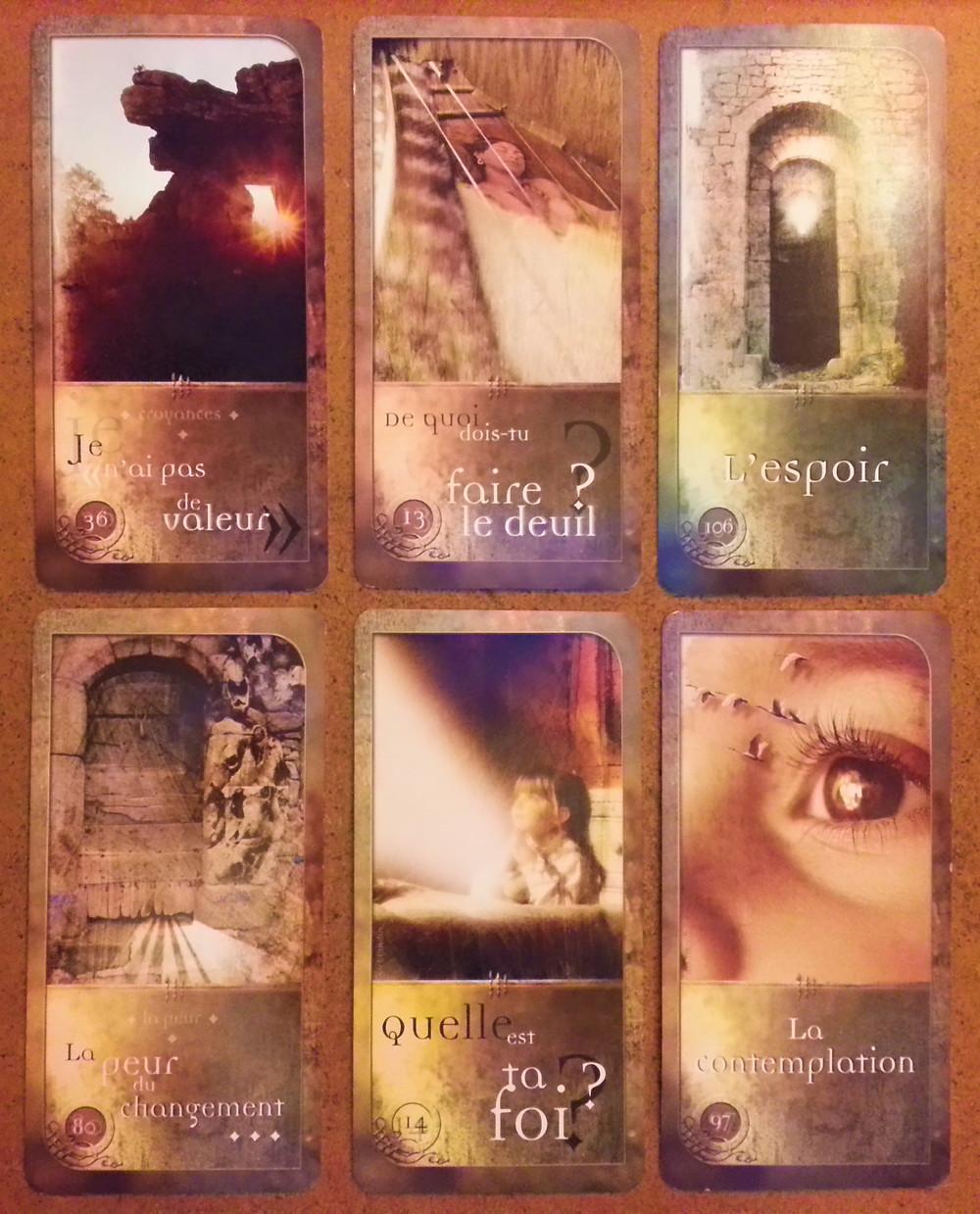 Cartes tirées de Les Chemins de Qumran, de Sarah Lechevalier, Sirblondin et Géraldine Bindi