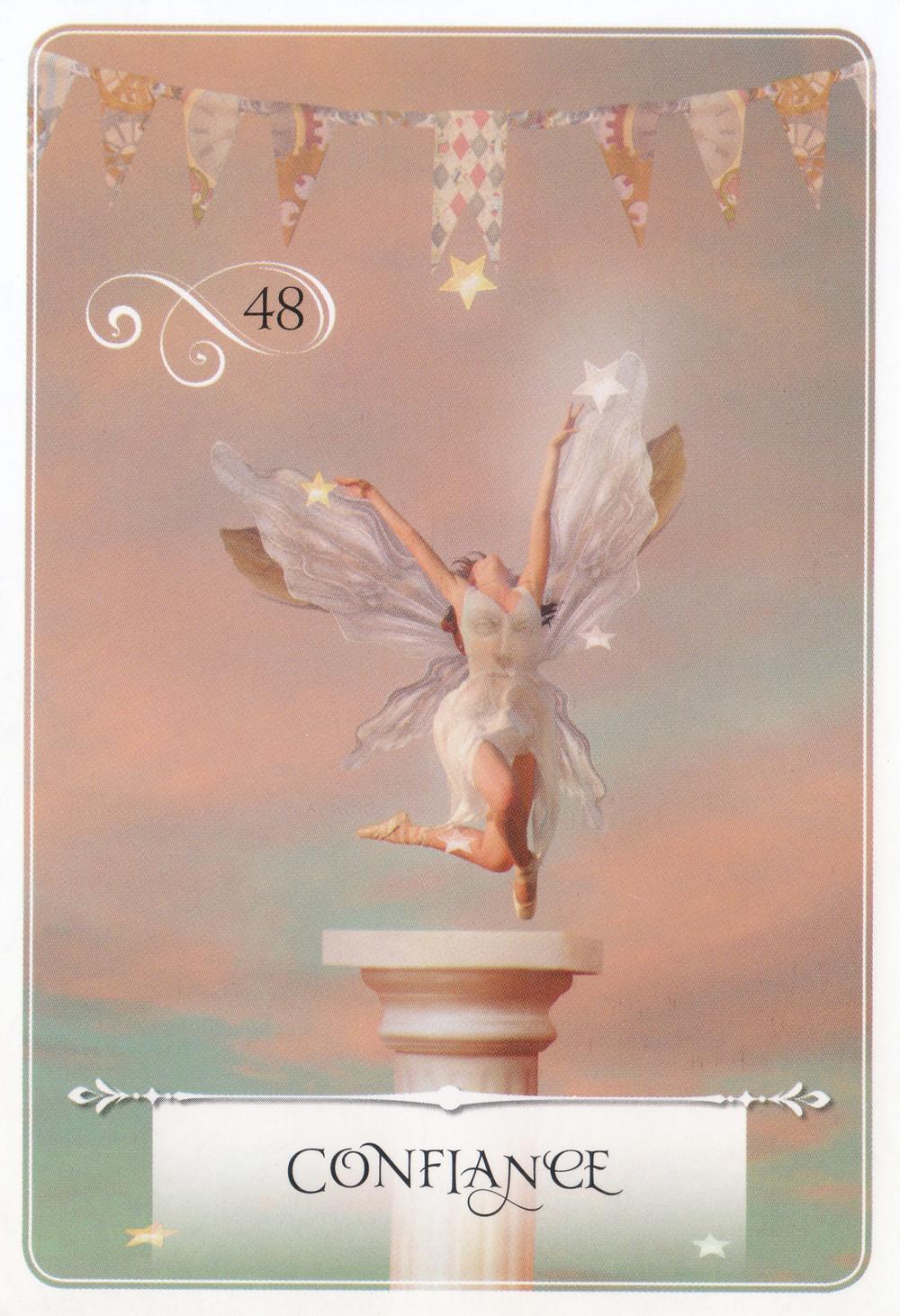 Carte de La Sagesse de l'Oracle de Colette Baron-Reid - Energies du 20 au 26 juillet 2020 (Portail du 25 et Nouvelle Lune) : Faire Confiance et nourrir la Paix de son Cœur