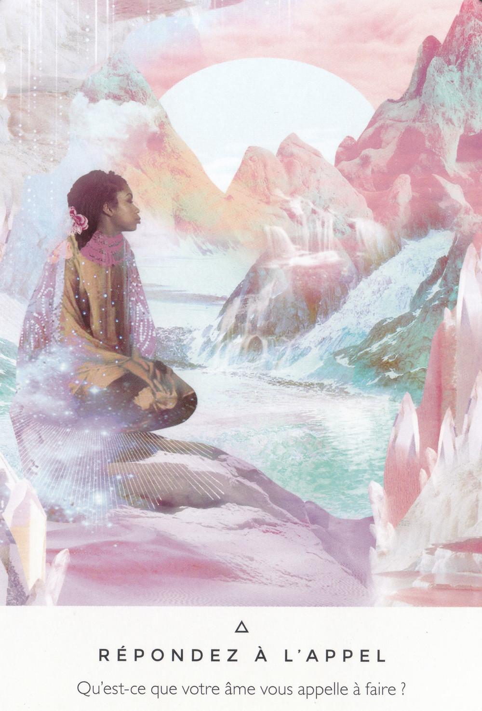 Carte de La voie des Artisans de Lumière de Rebecca Campbell - Répondez à l'Appel - Conseils du 29 janvier 2020 : Suivre l'Appel du Cœur...