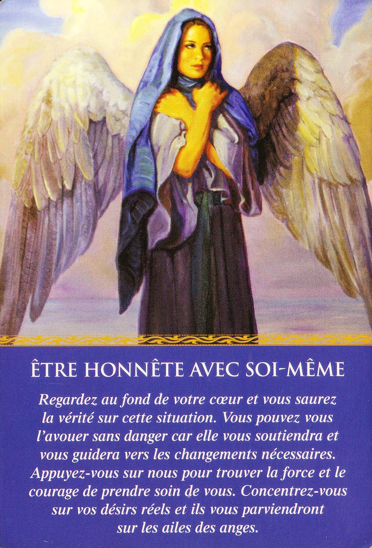 Carte de L'Oracle des Anges de Doreen Virtue : être honnête avec soi-même - News et météo énergétique de ce début d'année 2021 : Mode montagnes russes, on tient le cap !