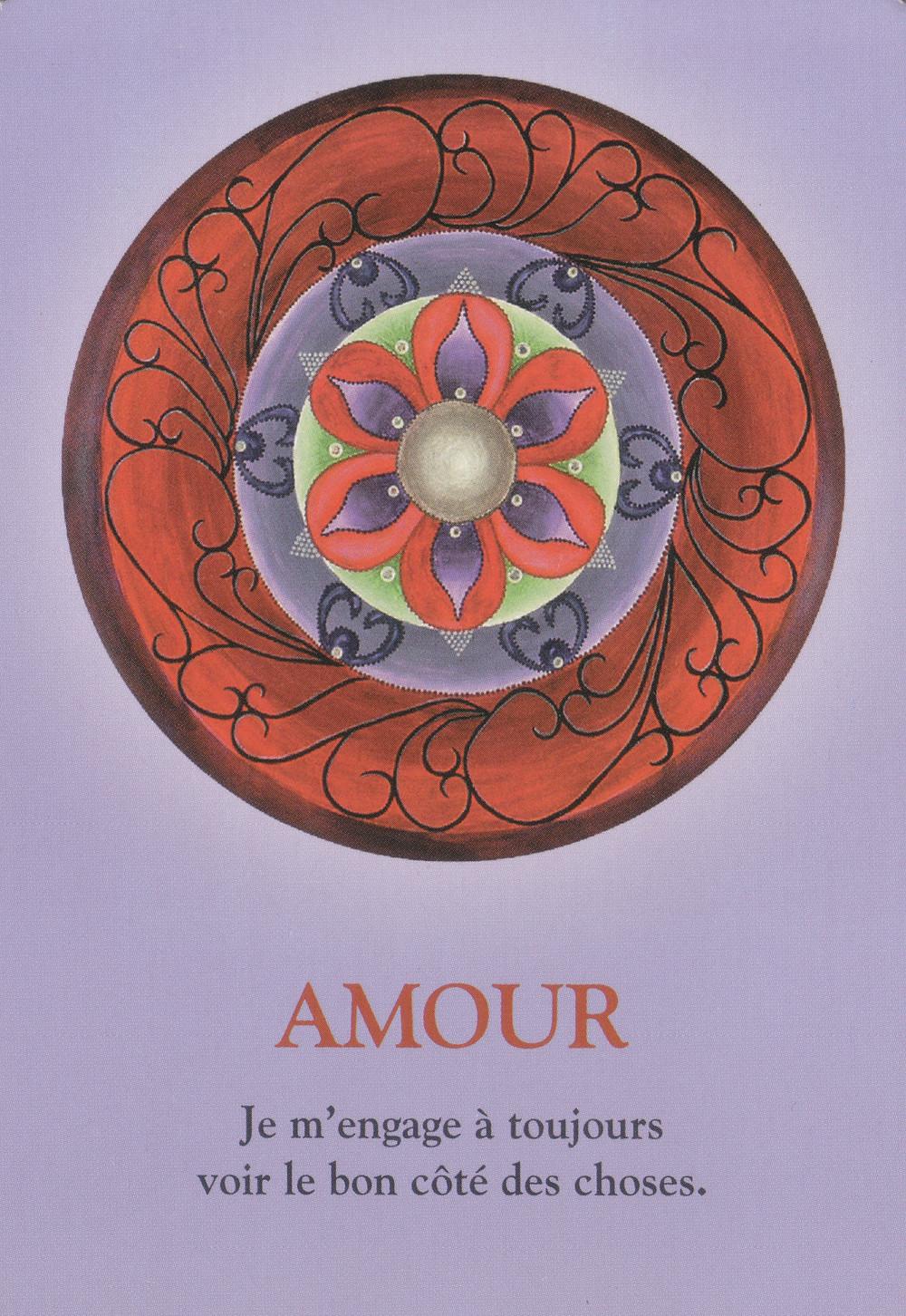 Carte de L'Oracle Le Cheminement de l'Âme, de James Van Praagh - Amour - Energies du weekend du 1-2-3 mai 2020 : Guérison du Cœur en cours... Patience et Amour !