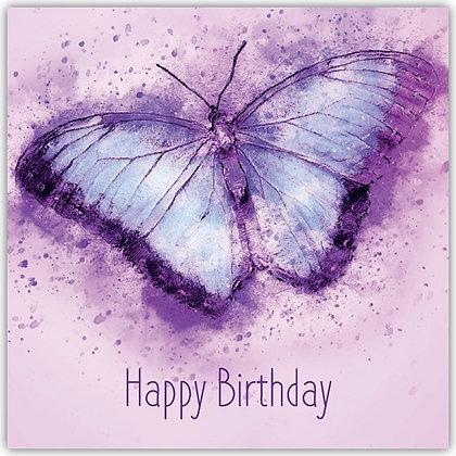 DT18011 Purple Butterfly