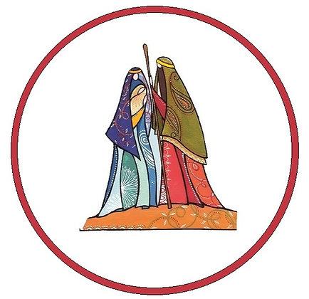 16146 Mary & Joseph