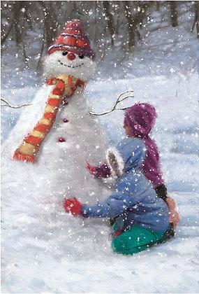 T16117 Lets Build a Snowman - Cost per pack isjust £1.50 (inc vat) rrp £3.00