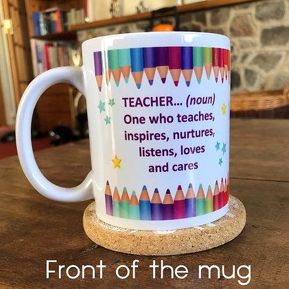 DM003 Thank You Teacher Mug