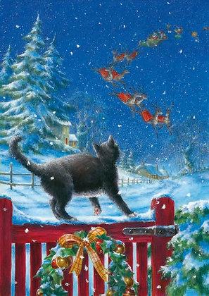 T14124 Cats Christmas - Cost per pack isjust £1.50 (inc vat) rrp £3.00