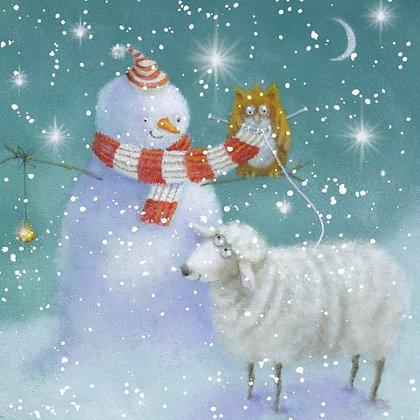 T18171 Snowman's Friends - Cost per pack isjust £1.50 (inc vat) rrp £3.00