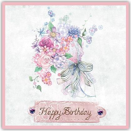 TDT18023 Birthday Posy