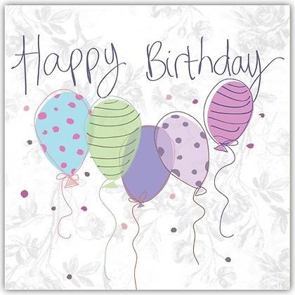 DT18058 Birthday Balloons