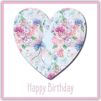 TDT18021 Floral Heart