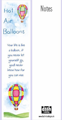 Balloons Bookmark