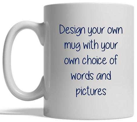 DM004 Design Your Own Mug