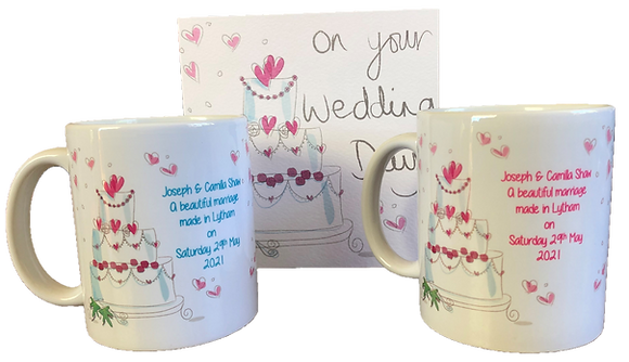 DM001 Bride & Groom Mug Set