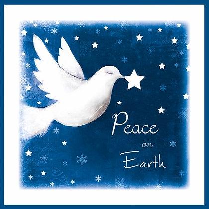 T17106 Peace on Earth - Cost per pack isjust £1.50 (inc vat) rrp £3.00