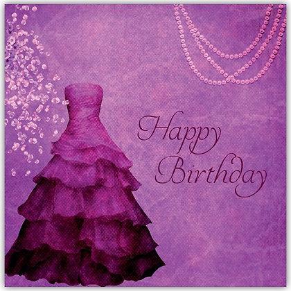 TDT18001 Birthday Dress