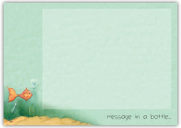 DT18035 Message in a Bottle