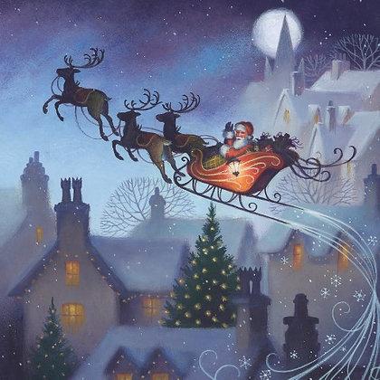 T18063 Santa's Flight - Cost per pack isjust £1.50 (inc vat) rrp £3.00
