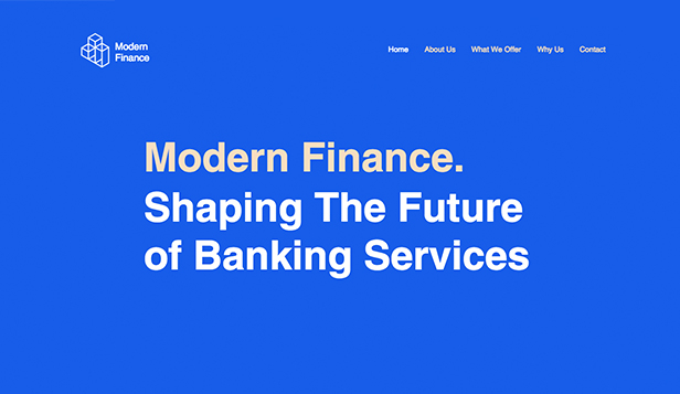 法律&ファイナンス website templates – Finance Services