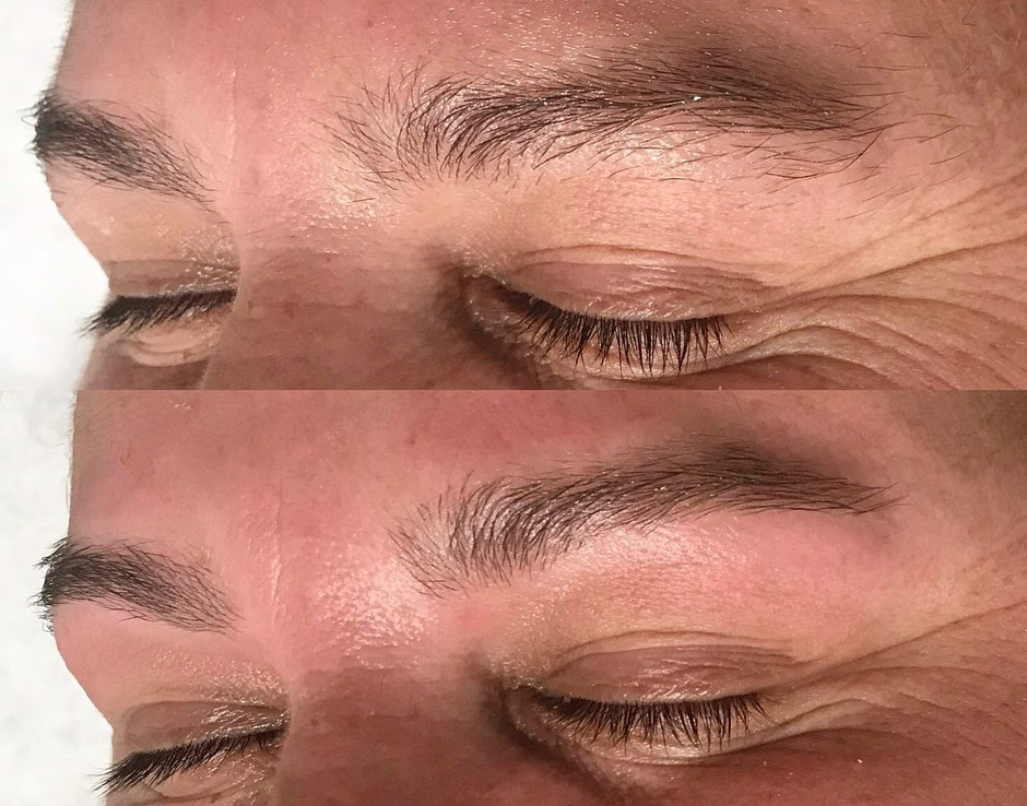Brow wax and tints ONLY $25