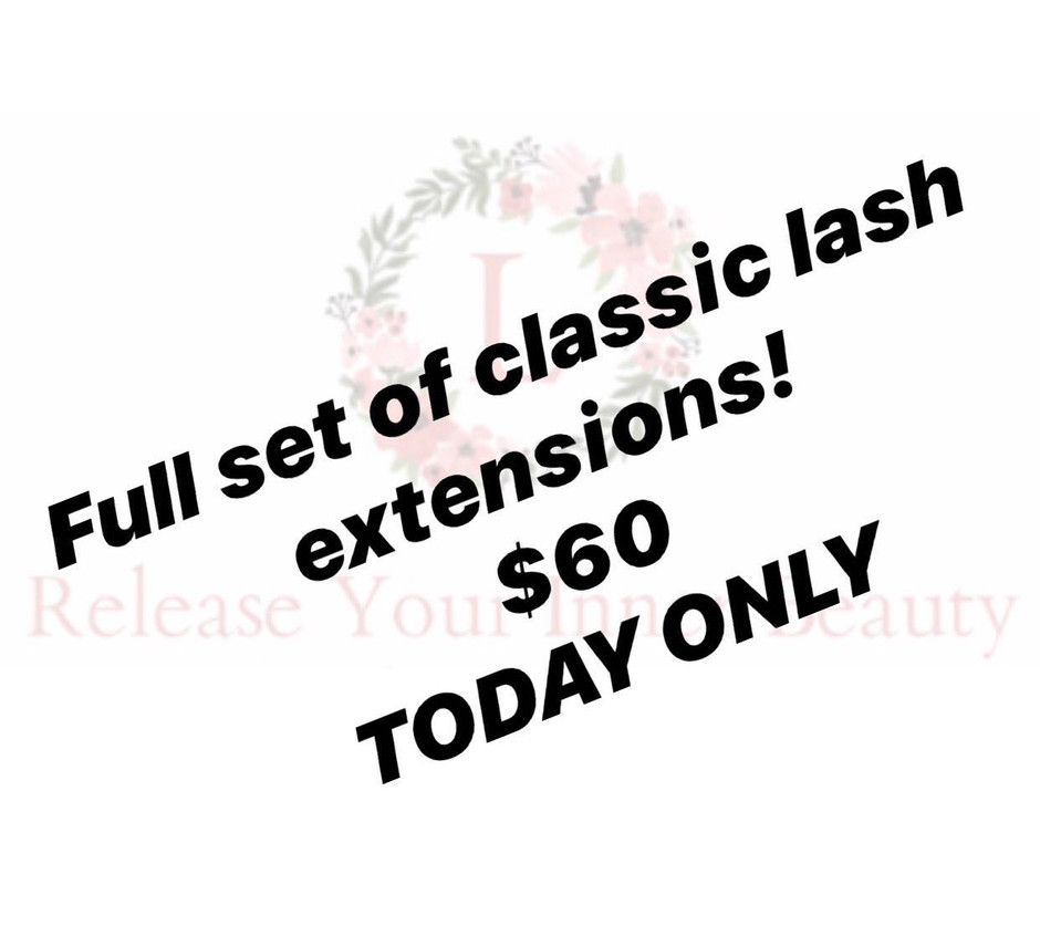FULL SET ONLY $60 TODAY! 28/7/20