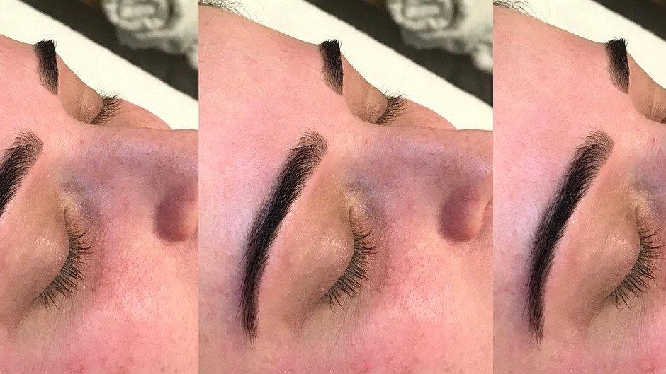 Brow wax and tint!