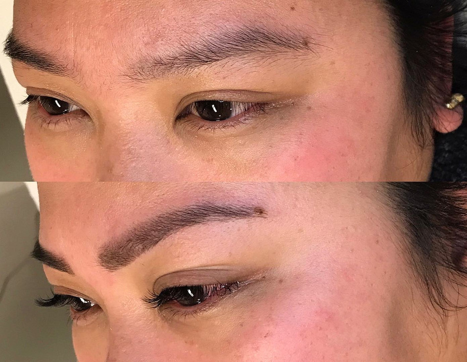 Brow wax and tint only $25