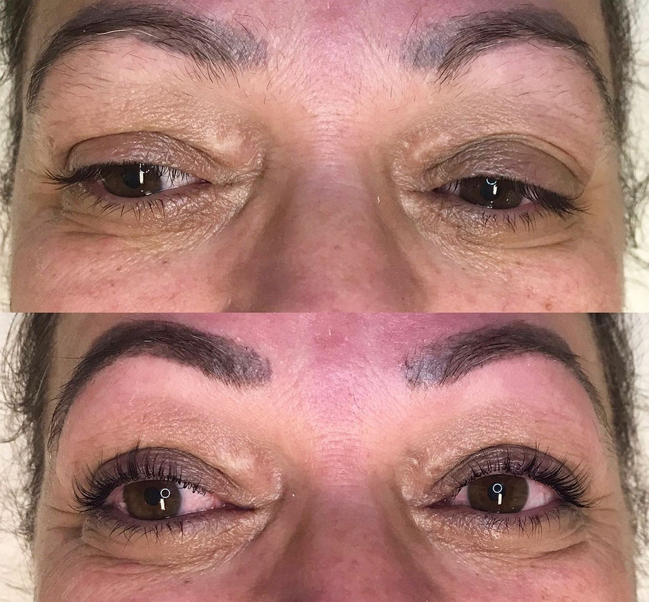 Enhance your natural lashes with a lash lift!