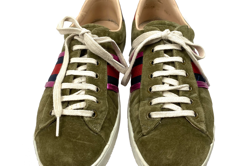 Gucci - Sneakers velvet