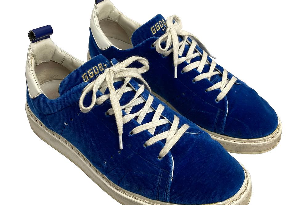 Golden Goose - Sneakers blue velvet