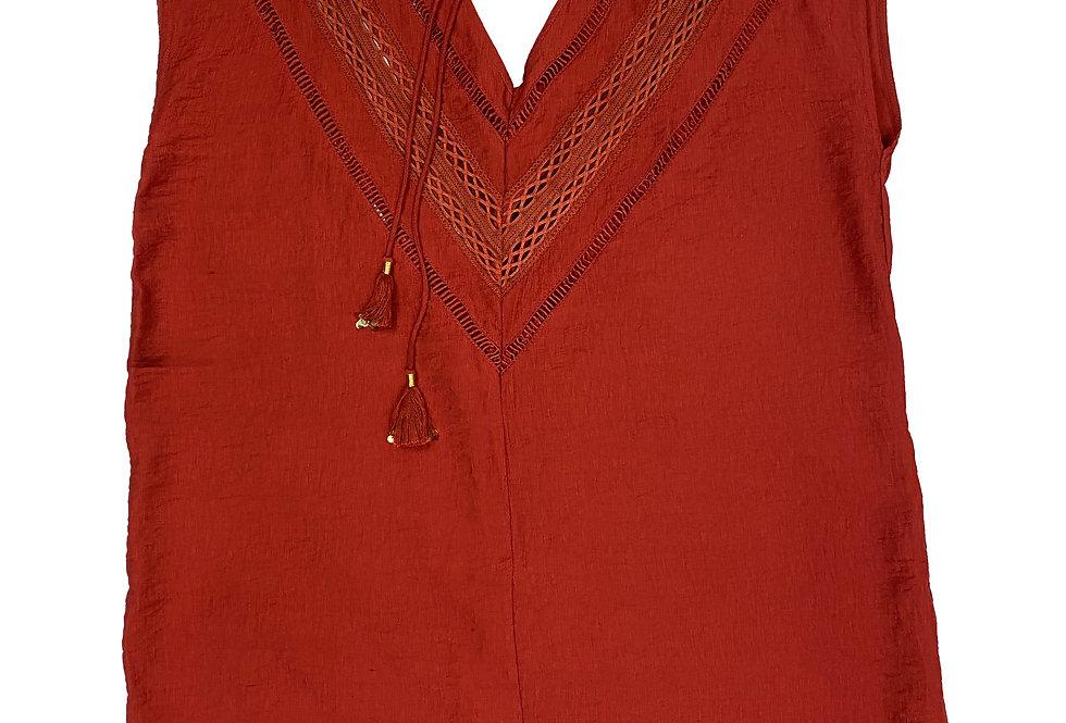 Amenapih - Dress red