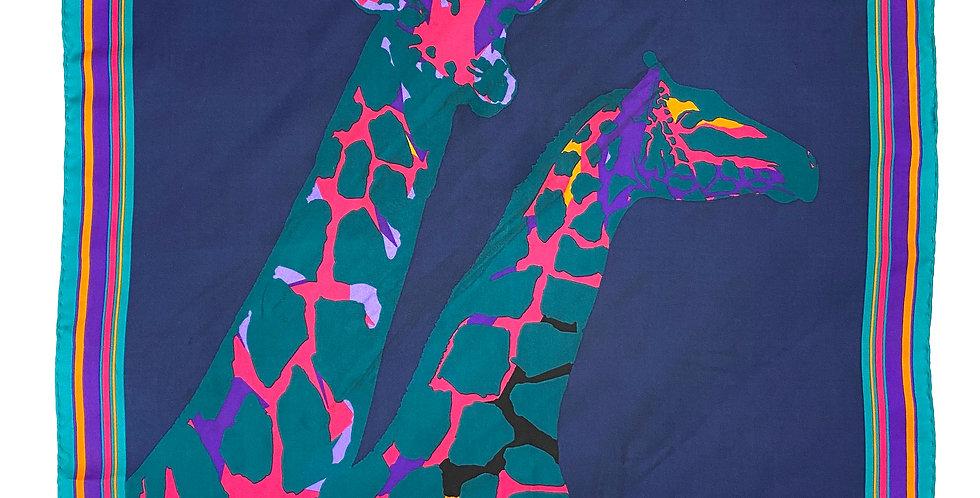 Louis Vuitton - Silk square giraffe