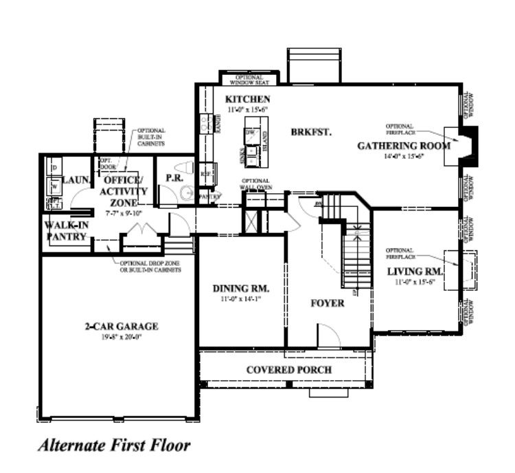 1st Floor Alt.