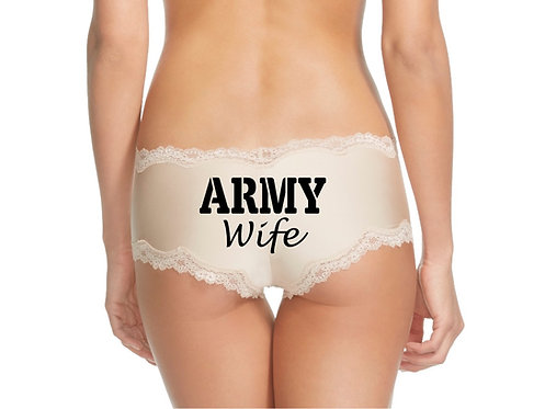Army Wife Nude Cheeky Panty