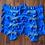 Thumbnail: Personalize a Electric blue Victoria's Secret cheek panty