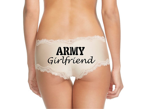 Army Girlfriend Nude Cheeky Panty