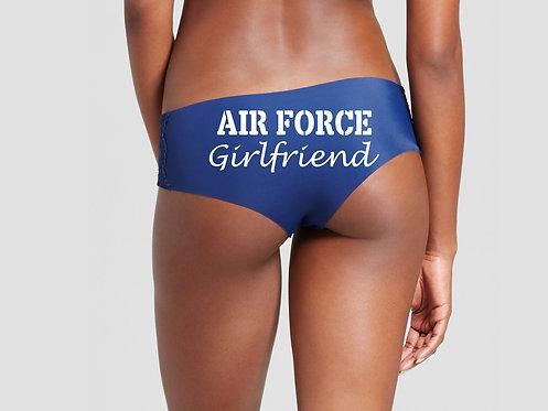 Air Force Girlfriend Blue Hipster Panties