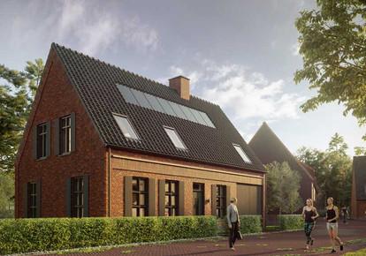 Boerderijwoning ontwerp Pauwert
